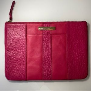 NWOT | Cole Haan | Pink Leather Clutch / Pouch